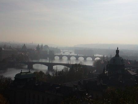 puentes de praga checoslovaquia